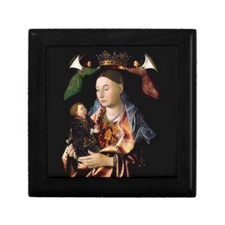 Salar Madonna y al niño de Cristo Joyero