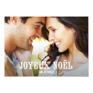 Sale cartes de Noël Invitaciones Personales