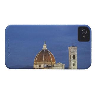 Salida de la luna y catedral de Florencia, di de iPhone 4 Cárcasa