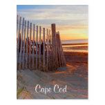 Salida del sol de Cape Cod sobre la postal de Brew