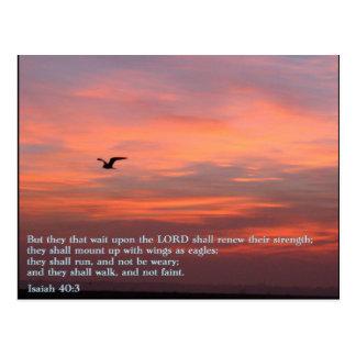 Salida del sol del 40:3 de Isaías Postal