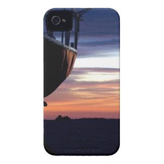 Salida del sol del puerto funda para iPhone 4
