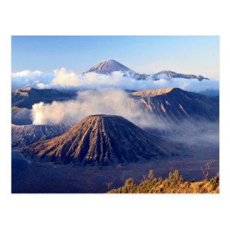 Salida del sol en el soporte Bromo, Java, Indonesi Tarjetas Postales