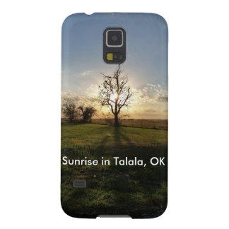 Salida del sol en Talala, caja ACEPTABLE del Funda Para Galaxy S5