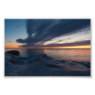 Salida del sol Milwaukee Wisconsin de North Point Fotos