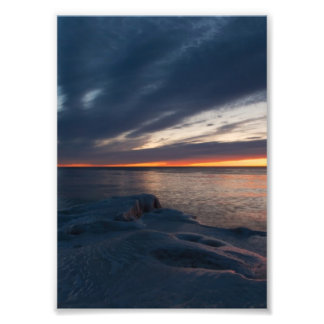Salida del sol Milwaukee Wisconsin de North Point Fotografia