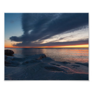 Salida del sol Milwaukee Wisconsin de North Point Impresion Fotografica