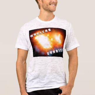 Salida del sol nuclear camiseta