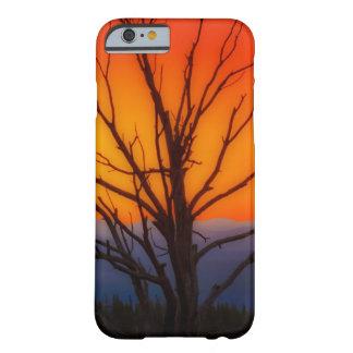 Salida del sol sobre diseño del parque nacional de funda barely there iPhone 6