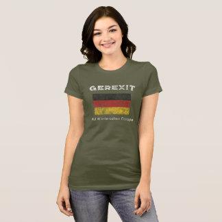Salida euro alemana - camisa de GEREXIT