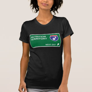 Salida siguiente de la nutrición camiseta