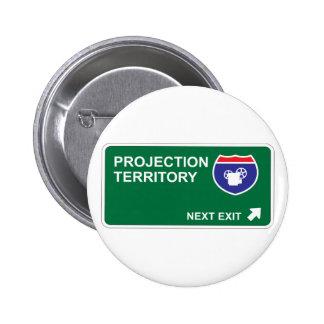 Salida siguiente de la proyección chapa redonda de 5 cm