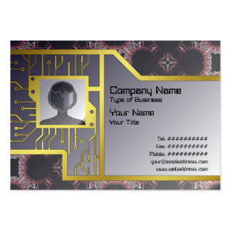 Salidas elegantes del corte de la flor de papel gr tarjeta de visita