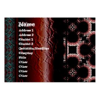 Salidas elegantes del corte de la flor de papel gr plantillas de tarjetas de visita