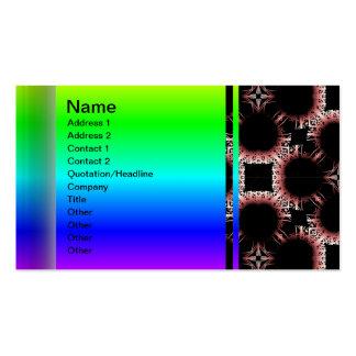 Salidas elegantes del corte de la flor de papel gr plantilla de tarjeta de visita