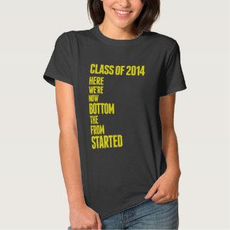 """""""Salido"""" de la clase inferior de la camiseta 2014"""