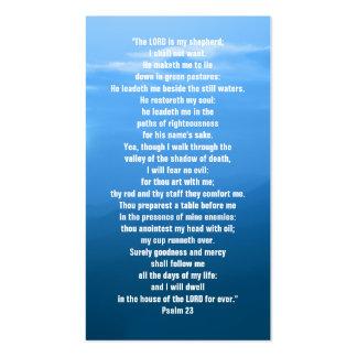 Salmo 23 - Tarjeta de visita cristiana