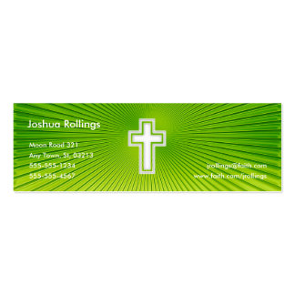 Salmo 37; 4-5 - Tarjeta de visita cristiana