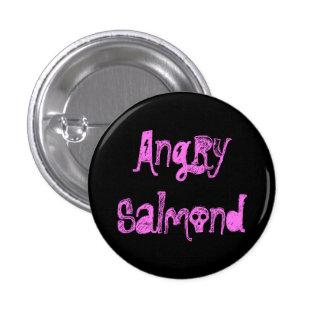 Salmond enojado chapa redonda de 2,5 cm