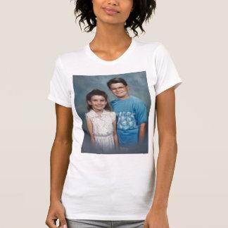 Salmonete de la niña camiseta