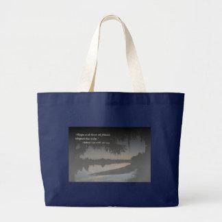 Salmos 119-126 con el rio Hillsborough Tazon Bags