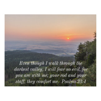 Salmos 23,4 cuadro
