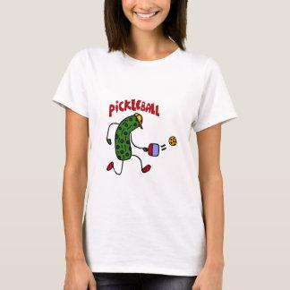 Salmuera divertida que juega diseño de la acción camiseta