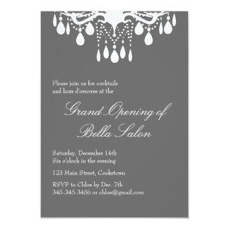 Salón de baile magnífico de la gran inauguración invitación 12,7 x 17,8 cm