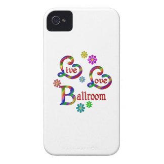 Salón de baile vivo del amor iPhone 4 Case-Mate carcasas