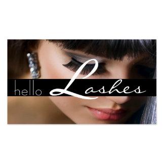 Salón de la cosmetología de la belleza de los plantilla de tarjeta personal