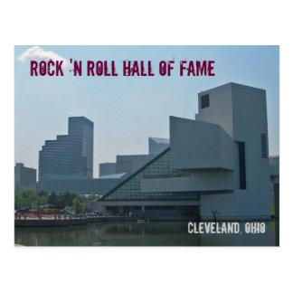 Salón de la fama Cleveland Ohio del rock-and-roll Postal