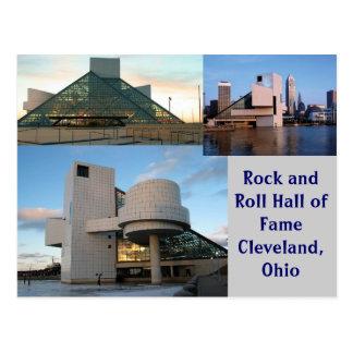 Salón de la fama Cleveland, Ohio del rock-and-roll Postal