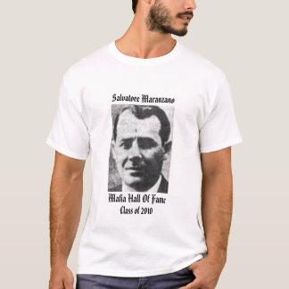 salón de la fama de la mafia del maranzano de camiseta