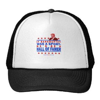 Salón de la fama de la quiebra gorras de camionero