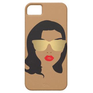 Salón de pelo, estilista, caso del iPhone del iPhone 5 Case-Mate Protectores