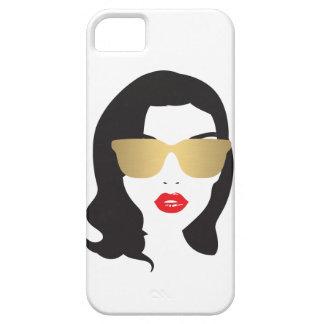 Salón de pelo, estilista, caso del iPhone del iPhone 5 Carcasas
