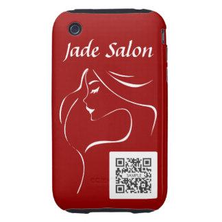salón del jade de la plantilla del caso del iPhone Tough iPhone 3 Protectores