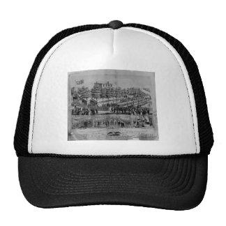 Salón voluntario del refresco, guerra civil, 1861 gorro de camionero