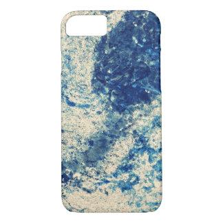 Salpicadura azul de la tormenta funda iPhone 7