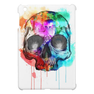 Salpicadura de la pintura del cráneo