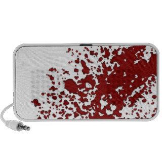 Salpicadura de la sangre mp3 altavoces