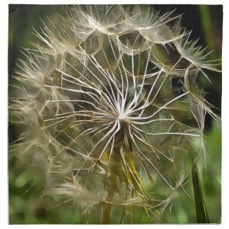 Salsifí de la flor del Tragopogon Servilleta De Tela