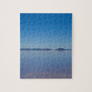Salt Lake en Salar de Uyuni, Bolivia Puzzle