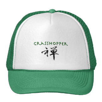 """Saltamontes con símbolo del """"zen"""" gorras"""