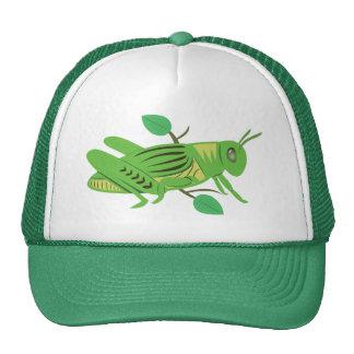 Saltamontes verde gorras