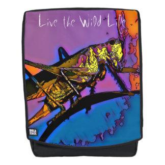 Saltamontes - vive la vida/la mochila salvajes