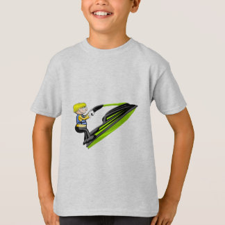 Saltando en Jet Ski Camiseta