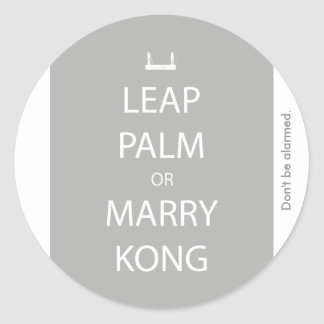 Salte la palma o case al pegatina de Kong