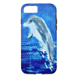 Salto de arte del delfín funda iPhone 7