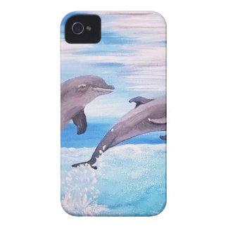 Salto del delfín funda para iPhone 4 de Case-Mate